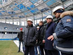 «Стадион Нижний Новгород» готов к вводу в эксплуатацию