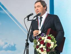 Андрея Молчанова наградили на Красной площади. Но не в Москве, а в Выборге