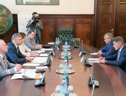 Как Олег Кожемяко обсуждал с Олегом Белозёровым строительство нового моста на Сахалин