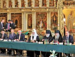 Концепция развития Сергиева Посада представлена на Попечительском совете Свято-Троицкой Сергиевой Лавры