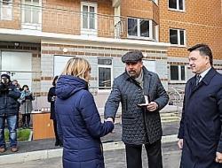 Квартиры в двух домах «СУ-155» в Звенигороде переданы 340 семьям