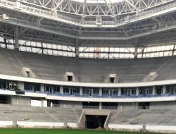 Леонид Ставицкий: Строительная готовность стадиона в Калининграде составляет почти 90 процентов