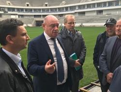 Леонид Ставицкий проверил готовность футбольных арен ЧМ-2018 к вводу в эксплуатацию