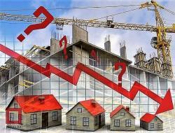 Объём строительных работ в августе сократился почти на 1 процент, а ввод жилья упал на 17 процентов…