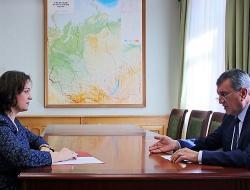 Сергей Меняйло и Ирина Таран обсудили вопросы проведения государственной экспертизы в СФО