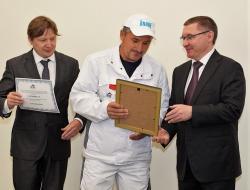 Владимир Якушев наградил победителей и призёров конкурса профессионального мастерства «Строймастер»