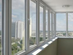 Остекление балконов профилями Rehau