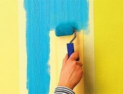 Покраска интерьеров и фасадов