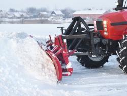 Услуги по уборке снега с территорий