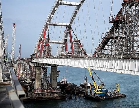 «Ленпромтранспроект» взыскал 22 миллиона с «Крымсетьэнергопроекта» за корректировки документации по Крымскому мосту
