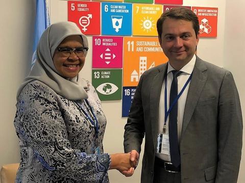 Андрей Чибис принял участие в обсуждении программ устойчивого развития в штаб-квартире ООН