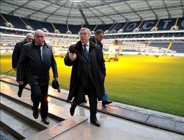 Леонид Ставицкий: Стадион «Ростов-Арена» введён в эксплуатацию