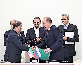 Михаил Мень и Аббас Ахмад Ахунди подписали Программу сотрудничества в сфере строительства между Россией и Ираном