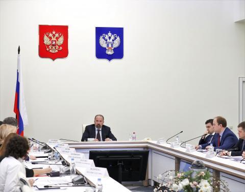 Михаил Мень провёл совещание по решению проблем обманутых дольщиков Ивановской области
