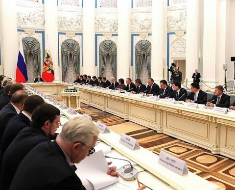 Михаил Мень сделал доклад на заседании Совета при Президенте РФ по стратегическому развитию и приоритетным проектам