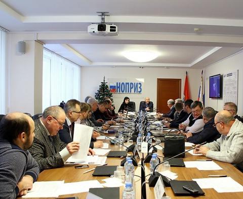 На заседании комитета НОПРИЗ рассматривали не только план работы на этот год…