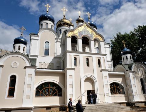 Владимир Ресин: Для завершения строительства храма в честь святителя Николая Чудотворца требуется 150 миллионов рублей