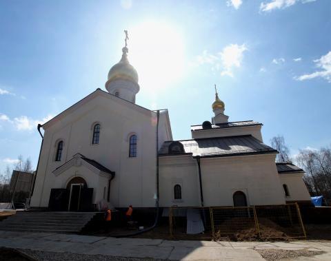 Владимир Ресин: Готовится к сдаче первый храм в посёлке Мещерский