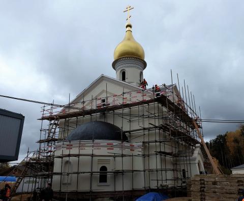 Владимир Ресин: Храмовый комплекс в Солнцево планируется подготовить к сдаче в эксплуатацию во втором квартале 2018 года