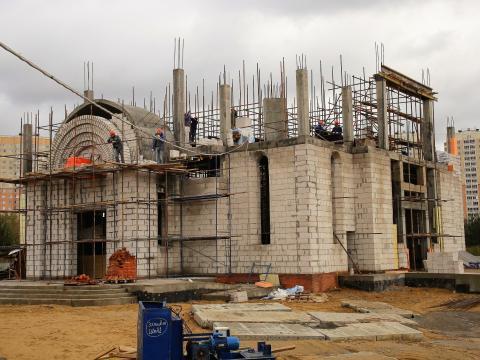Владимир Ресин: На Люберецких полях в Новой Некрасовке строится храм в честь Покрова Пресвятой Богородицы
