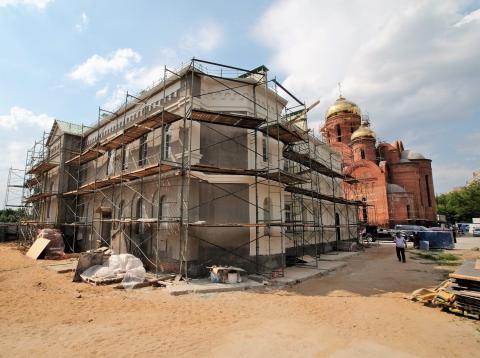 Владимир Ресин: На храм в честь основателя Москвы поднят главный купол