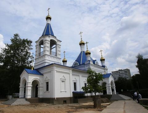 Владимир Ресин: Первый в истории Москвы храм в честь первой христианской правительницы Руси построен в Останкино