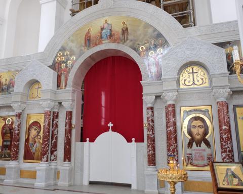 Владимир Ресин: В храме Федора Ушакова установлен уникальный воинский иконостас