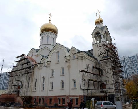 Владимир Ресин: В конце 2017 года завершатся работы в верхнем приделе храма Андрея Рублёва в Раменках