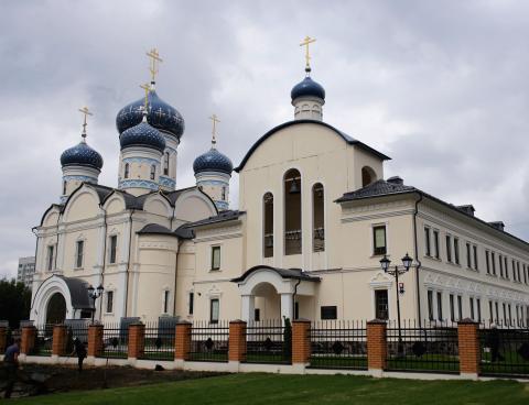 Владимир Ресин: Великое освящение Храма Федора Ушакова в Южном Бутове состоится в декабре этого года