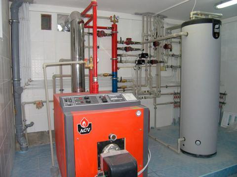 Строительство газовой котельной под ключ