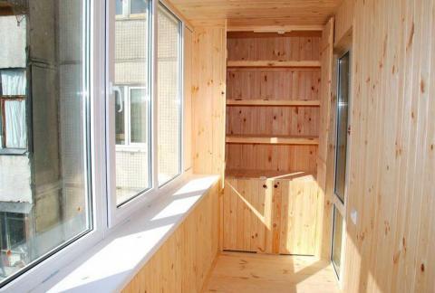 Ремонт балкона под ключ: этапы работ