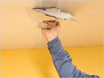 Сухая отделка потолка