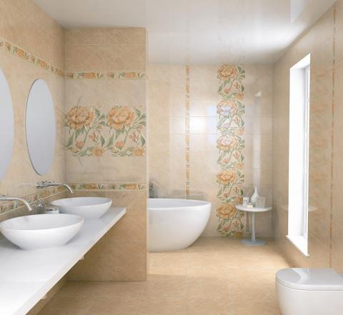 Виды плитки для ванной керама марацци