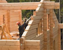 Красноярские саморегуляторы предложили решать жилищный вопрос с помощью деревянного домостроения