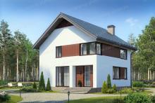 Проекты домов со скромным, но элегантным домашним дизайном