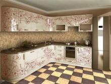 Виды фасадов для кухни