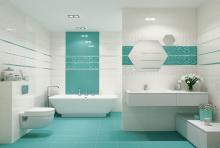 Керамическая плитка для ванной
