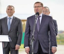 Владимир Якушев в родной Тюмени открыл мусоросортировочный завод, построенный в рамках концессии