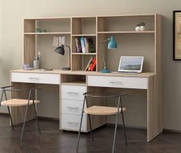 Двойные письменные столы