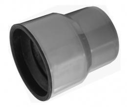 Как соединить чугунную канализационную трубу с пластиковой