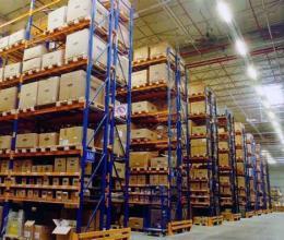 Правила установки стеллажей в складском помещении